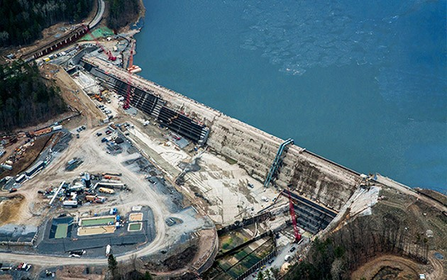 Large image of Gilboa Dam_4