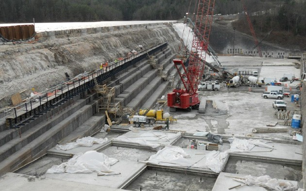 Large image of Gilboa Dam_1