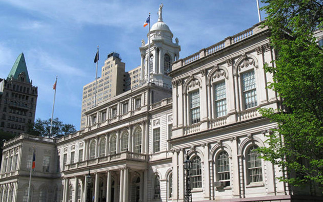 Large image of NYC City Hall_2