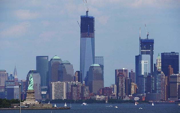 NYC Downtown Shot - 2012